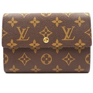 Monogram Trifold Bill Wallet